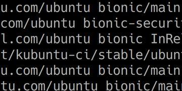 Ubuntu Bionic plus Kubuntu-CI